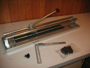 13 and 24 Inch Tile Cutters, BRAND NEW
