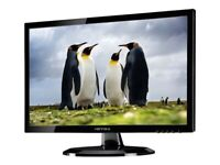 Excellent Hanns g HE247DPB 24 inch Widescreen 1080p HDMI Monitor, speakers, + power cable