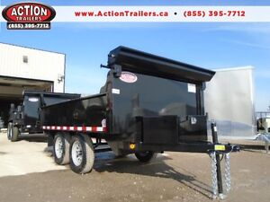 10ft LOW PROFILE QUALITY STEEL DUMP - FULL TARP KIT INCLUDED.