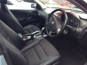 2006 Holden Commodore VZ MY06 SV6 Silver 5 Speed Auto Active Select Sedan