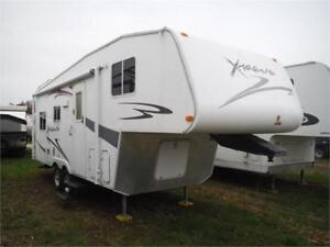 2008 Xtreme Lite 230SL 23' 5th wheel w slide- Only 4800LBS