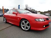 2004 Holden Monaro Series III CV8 Red 4 Speed Automatic Coupe Pooraka Salisbury Area Preview