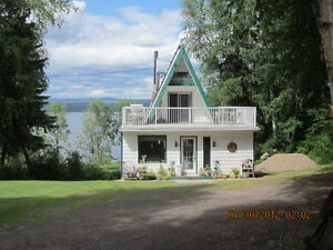 5 acres on Fraser Lake with 30x40 shop