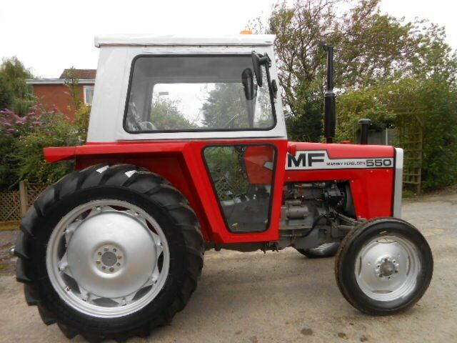 Massey Ferguson 550 Tractor | in Crowle, Lincolnshire | Gumtree
