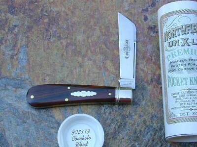 GREAT EASTERN GEC NORTHFIELD COCOBOLO WOOD RAM FOOT KNIFE RARE 1/619 MIT 933119