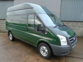Ford Transit 350 TDCi high top van 2010 10 reg