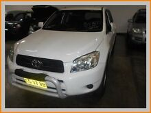 2006 Toyota RAV4 ACA23R CV (4x4) White 4 Speed Automatic Wagon Warwick Farm Liverpool Area Preview