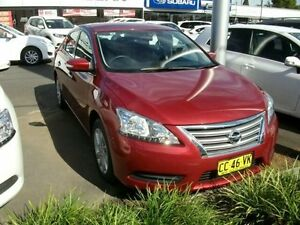 2014 Nissan Pulsar B17 ST Red 1 Speed Constant Variable Sedan South Grafton Clarence Valley Preview