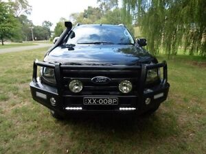 2013 Ford Ranger PX Wildtrak Double Cab Black 6 Speed Sports Automatic Utility Mount Barker Mount Barker Area Preview