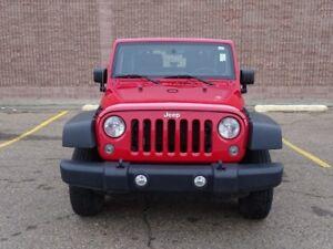2014 Jeep Wrangler 4WD SPORT Accident Free,