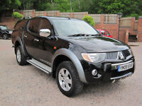 2008 08 Mitsubishi L200 2.5DI-D 4WD Double Cab Pickup auto Warrior
