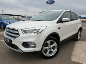 2019 Ford Escape ZG 2019.25MY Trend PwrShift AWD White 6 Speed Sports Automatic Dual Clutch Wagon Kilmore Mitchell Area Preview