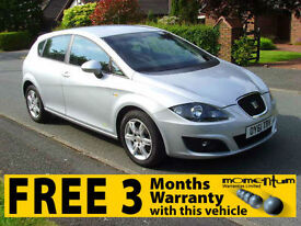 Seat Leon 1.6TDI CR Ecomotive S Copa ( 105ps ) (2011MY 61 REG)