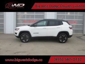 2017 Jeep New Compass Trailhawk 4x4 Navigation Leather Apple Car
