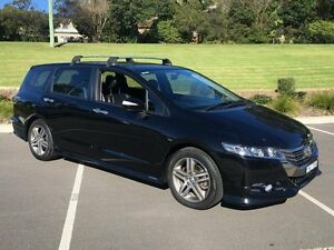 2012 Honda Odyssey RB MY12 Luxury Black 5 Speed Automatic Wagon Lisarow Gosford Area Preview