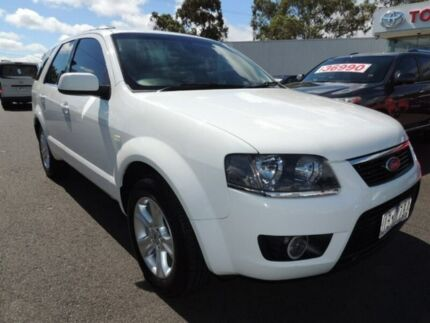 2011 Ford Territory SY Mkii TX White 4 Speed Sports Automatic Wagon Oakleigh Monash Area Preview