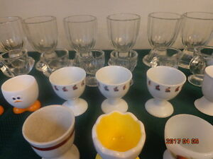 Egg Cup Collection:  All 35 Egg Cups For $15!  Fun to Collect!