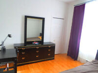 One furnished room equipped Bombardier Salaberry ut.included