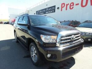 2016 Toyota Sequoia Limited | 8 Passenger | Navigation