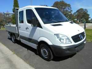 2007 Mercedes-Benz Sprinter White Automatic Dual Cab Preston Darebin Area Preview
