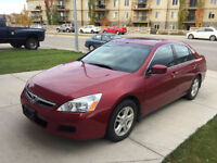 2007 Honda Accord SE Sedan 7200 OBO