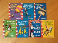7 Dr Seusse books for children in excellent condition