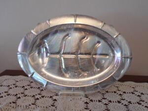 Silver Meat Tray / Platter