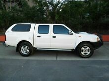 2013 Nissan Navara D22 S5 ST-R White 5 Speed Manual Utility Molendinar Gold Coast City Preview