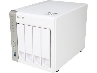 QNAP TS-431 4-Bay Personal Cloud NAS Diskless System with DLNA, PLEX Support