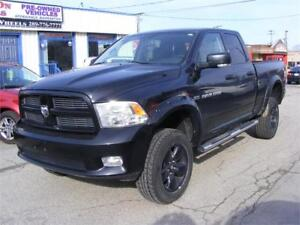 2012 Dodge Power Ram 1500  4X4 LEATHER INTERIOR