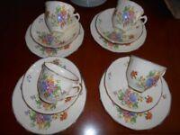 Tea Set Alfred Meakin- Brighton 12 Piece Vintage