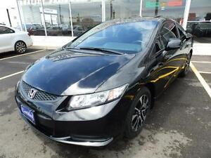 2013 Honda Civic COUPE AUTO,SUNROOF,CAMERA,DEALER MAINTAINED