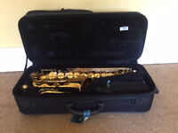 A wonderful Jupiter Alto Saxophone JAS-567 with case & music, good as new, only £249!