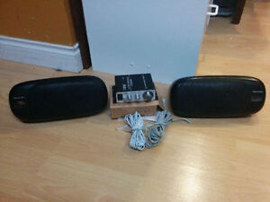 Lepy HiFi Stereo Amp  with stereo speakers
