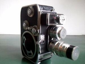 Bolex B8L Camera with 2 Berthiot lenses