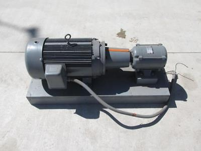 7.5 Hp Rotary Phase Converter Single To 3 Phase With 13 Hp 115230v Pony Motor