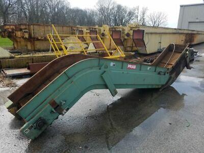 22 X 17 Long Prab Magnetic Conveyor 3 Infeed Length 22 Wide 17 Long 1.5 Hp