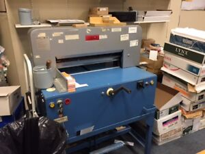 Heavy Duty Paper Cutter with extra blades for Sale