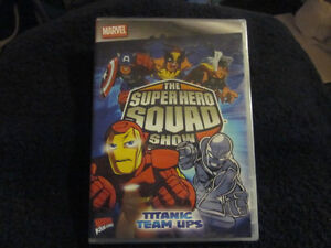 2 Marvel The Super Hero Squad DVD's BRAND NEW London Ontario image 3