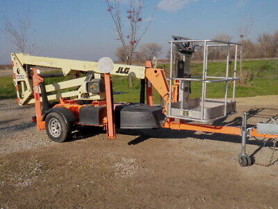 2011 Jlg T350 Towable Electric Boom Lift