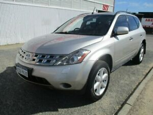 2005 Nissan Murano Silver Constant Variable Wagon West Perth Perth City Area Preview