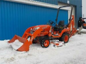 JUST IN KUBOTA BX24D TRACTOR LOADER BACKHOE MOWER TLB