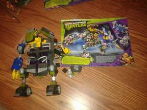 Mega Bloks Teenage Mutant Ninja Turtles Set