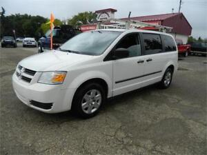 2011 dodge caravan (CARGO VAN) ladder rack & more