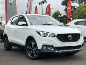 2019 MG ZS White Automatic Wagon Hoppers Crossing Wyndham Area Preview