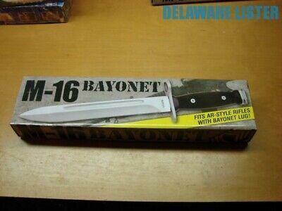 US Military Army Style Vietnam Era  BAYONET Knife w/Sheath/Scabbard NEW