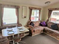 2 bed static including 2018 site fees for quick sale with choice of pitch