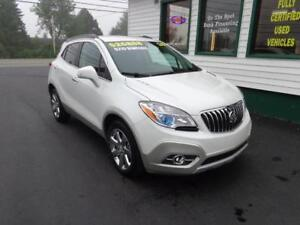 2016 Buick Encore Leather AWD for only $192 bi-weekly all in!