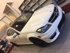 Mercedes C63 AMG with factory performance upgrade 497hp (Mint)