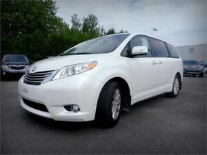 2014 Toyota Sienna XLE, 7 passagers, Cuir, lecteur DVD